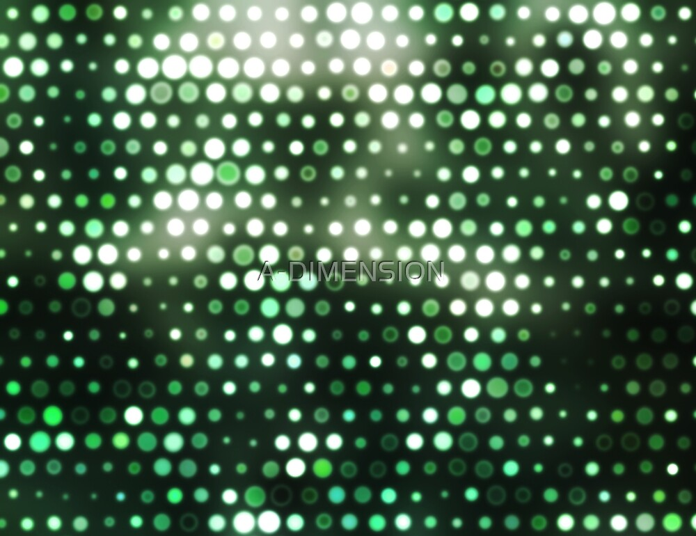 Dots, Green (Wallpaper, Background) by A-DIMENSION