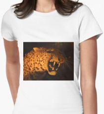 Sabre Toothed Tiger Women's Fitted T-Shirt