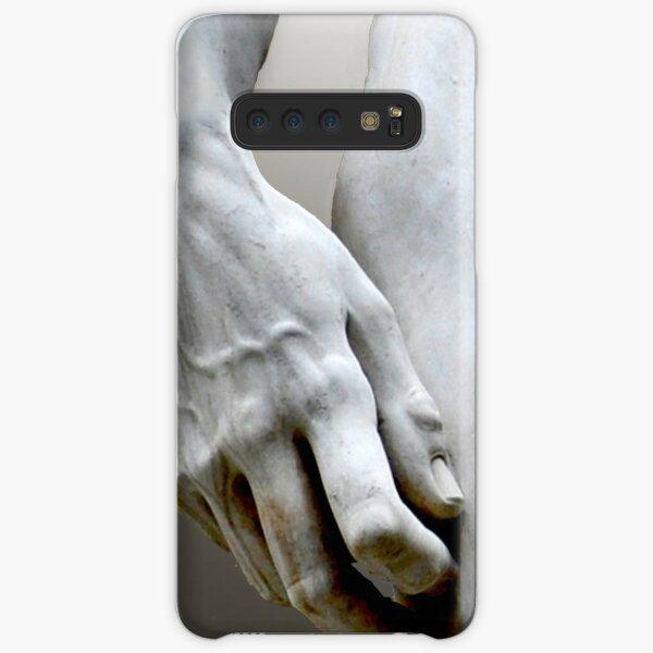 DAVID'S HAND MICHELANGELO DI LODOVICO BUONARROTI SIMONI Samsung Galaxy Snap Case