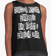 Touching Without Permission Contrast Tank