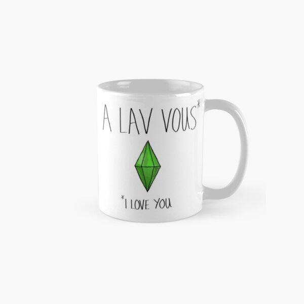 I love you - Simlish Classic Mug