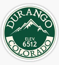 Durango Colorado Mountain Bike Mesa Verde National Park Sticker