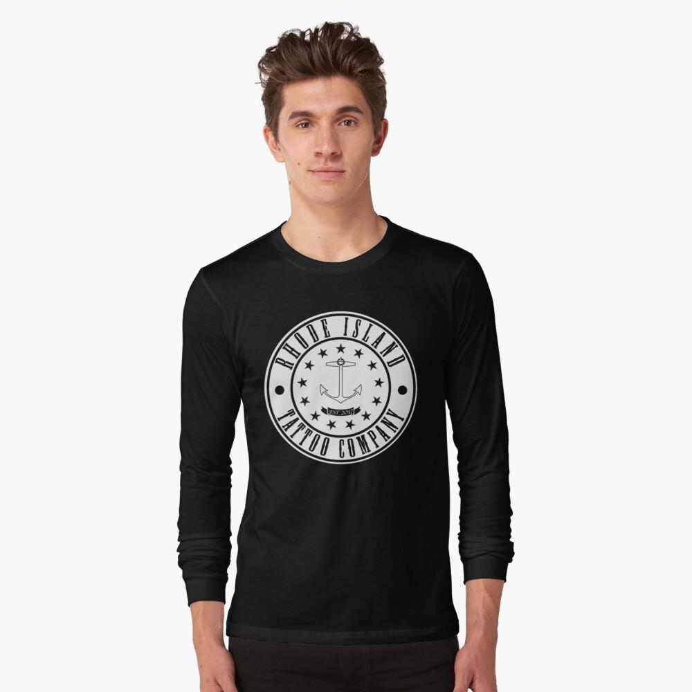 "Rhode Island Tattoo company ""Company Shirt"" Long Sleeve T-Shirt"
