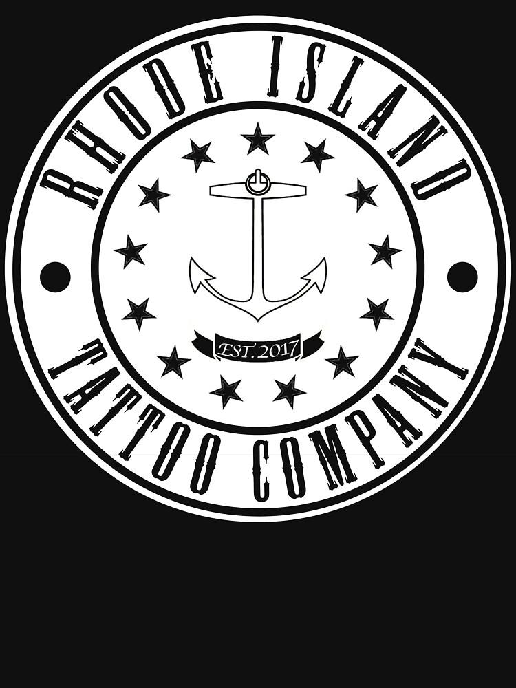 """Rhode Island Tattoo company """"Company Shirt"""" by RiTattooCompany"""