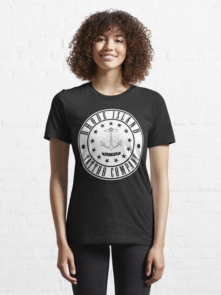 "Alternate view of Rhode Island Tattoo company ""Company Shirt"" Essential T-Shirt"