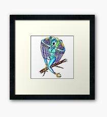 The Harpy - Greek Mythology Illustration Series by Jayne Kitsch Framed Print