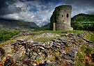Dolbadarn Castle, Llanberis by Angie Latham