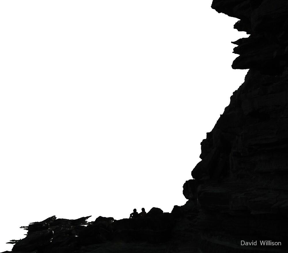 Beach Watching by David  Willison