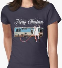 Cousin Eddie, Shitter was full Women's Fitted T-Shirt