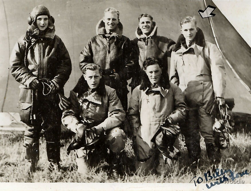 "1940 RAF aircrew, ""To Billy with love"" by Woodie"