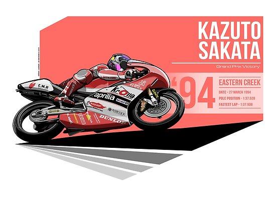 Kazuto Sakata - 1994 Eastern Creek by Evan DeCiren