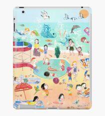 Wimmelbild Sommer am Strand iPad Case/Skin