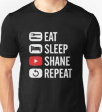 Eat Sleep Watch Shane Repeat T-Shirt