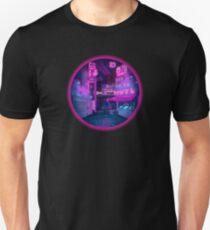 Neon Cyber punk city T-Shirt