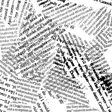 Grunge Newsprint by WhizzDesign