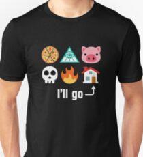 I'll Go Home Icons T-Shirt