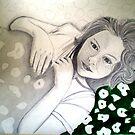"""Preliminary Sketch by Belinda """"BillyLee"""" NYE (Printmaker)"""