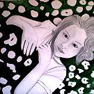 """Preliminary Sketch 1 by Belinda """"BillyLee"""" NYE (Printmaker)"""