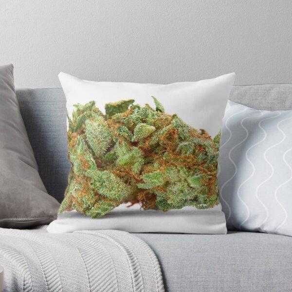 Space Queen Marijuana Throw Pillow