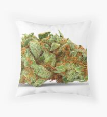 Space Queen Marijuana Throw Pillow