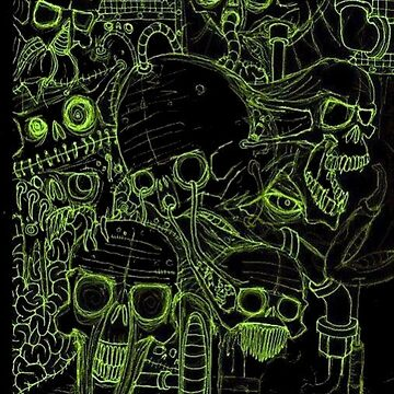 Freak Show (Green-Alpha/For Dark BackGrounds) by AbsinthTears