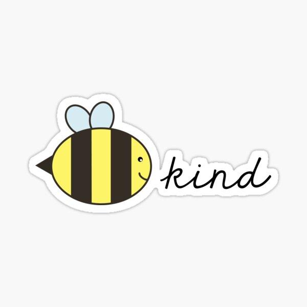 bee kind Glossy Sticker