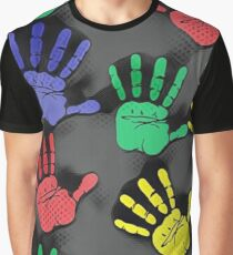 Hands!! Graphic T-Shirt
