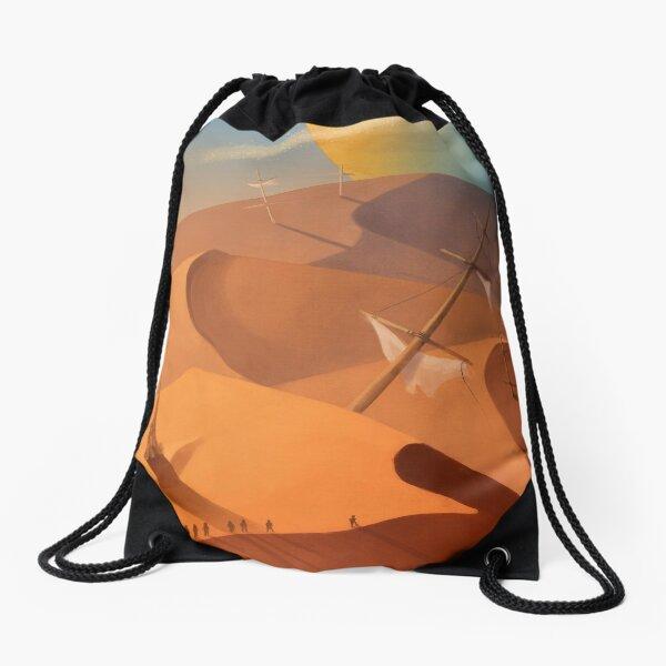 After the Wave Drawstring Bag