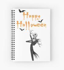 Jack wierd world tshir halloween Spiral Notebook