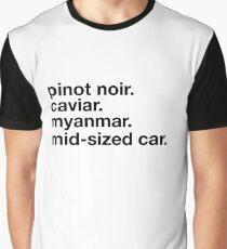Pinot Noir Graphic T-Shirt