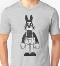 Water Color Ink Machine Wolf T-Shirt