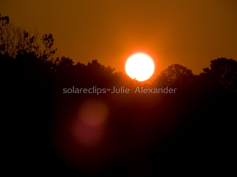 Sunrise U.S.A. by solareclips~Julie  Alexander