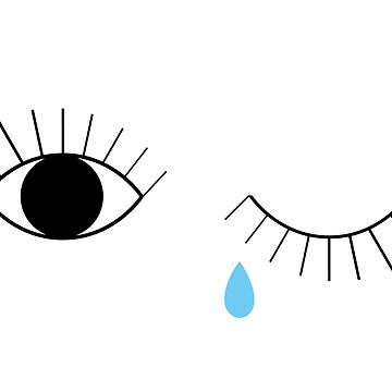 Eyes Crying by Lavenna