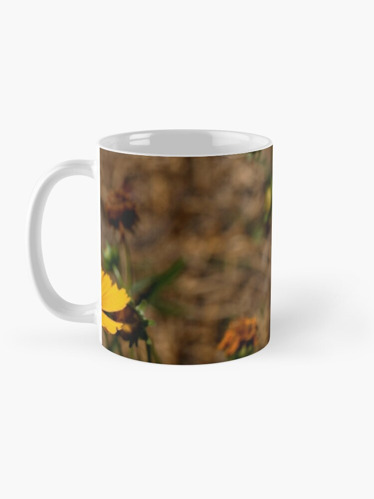 Alternate view of Small Sunflower in Southern California Mug