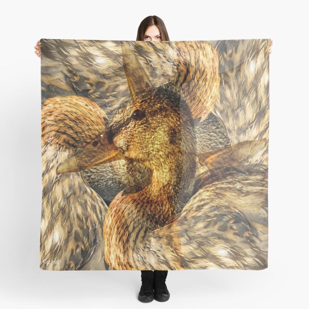 Designs Inspired By Nature: Wild Mallard Scarf