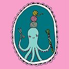 Mademoiselle Octopus: Crafting by Hiné Mizushima