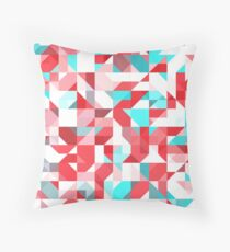 Staccato Red Floor Pillow