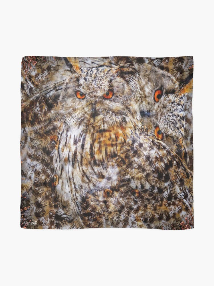 Alternate view of Designs Inspired By Nature: Eagle Owl Scarf