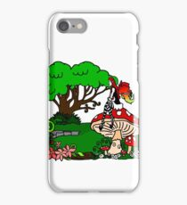 Magical Forest with Faerie iPhone Case/Skin