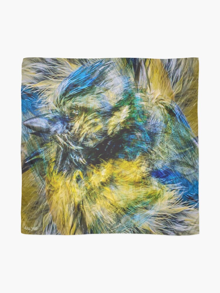 Alternate view of Designs Inspired By Nature: Blue Tit Scarf