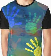 Hands. 6  Graphic T-Shirt