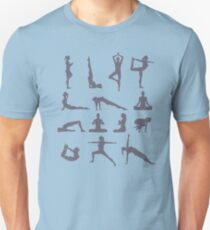 Yoga Poses and Postures Unisex T-Shirt