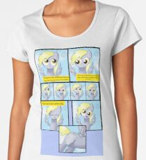 My Little Pony: How Derpy Became Derpy Women's Premium T-Shirt
