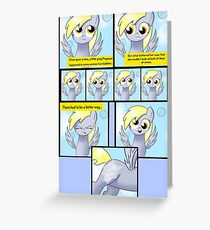 My Little Pony: How Derpy Became Derpy Greeting Card