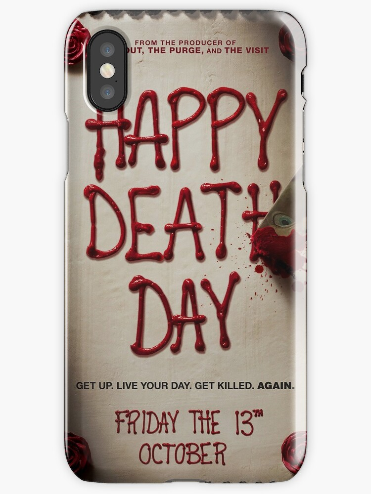 Happy death day iphone cases covers by mcache redbubble happy death day stopboris Choice Image