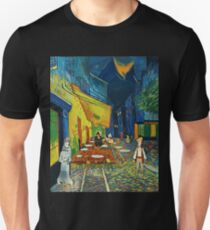 Goodsoup terrace at night T-Shirt