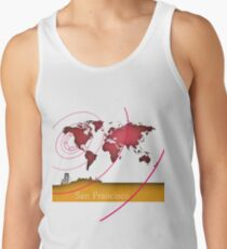 San Francisco in the world Tank Top
