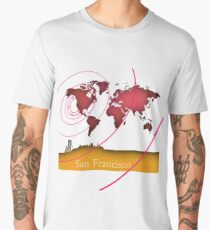 San Francisco in the world Men's Premium T-Shirt