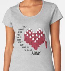 Handmaids Heart Women's Premium T-Shirt