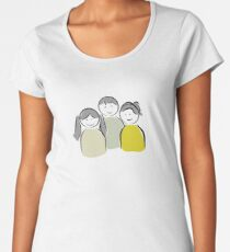 happy kids Women's Premium T-Shirt